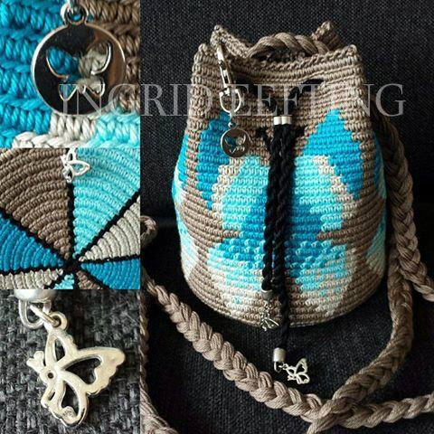 Mochila mini butterfly