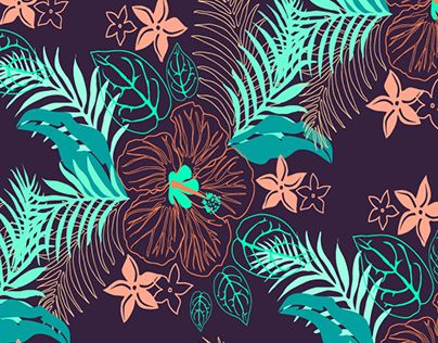 """Check out new work on my @Behance portfolio: """"Hawaii Pattern"""" http://be.net/gallery/36360083/Hawaii-Pattern"""