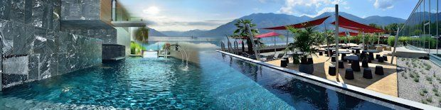 Termali Salini & Spa, Locarno Ticino, Switzerland