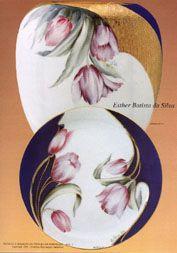 Pintura em Porcelana Esther