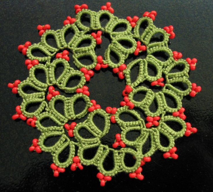 Tatting Patterns posy | Stitching 'n' Knitting: Tatting Tea