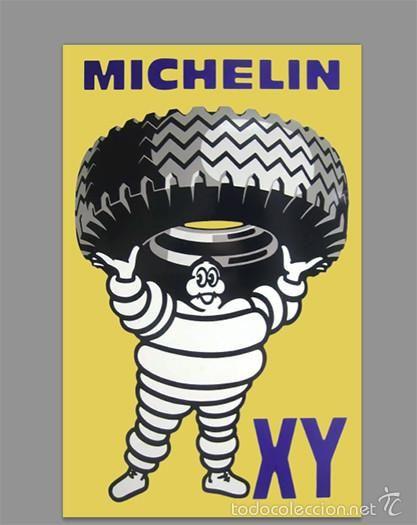 Azulejo 20x30 publicidad MICHELIN
