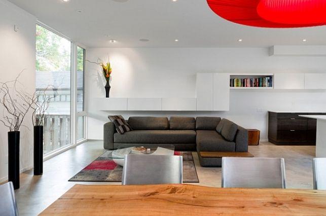 30 de idei pentru livinguri minimaliste- Inspiratie in amenajarea casei - www.povesteacasei.ro