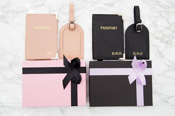 Fly to your dream passport holder leather documents cover gift