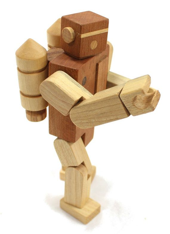 Robot Toy by HappyBungalow on Etsy