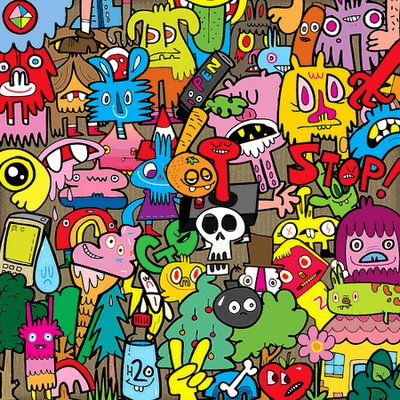 Jon Burgerman - Love http://typotalks.com/berlin/2015/speakers/#jon-burgerman