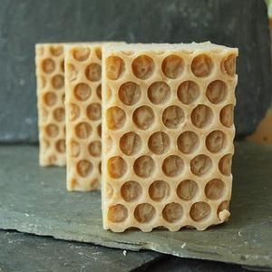 The Basic Honey Soap Recipe - prevents acne, dryness, and wrinkles.