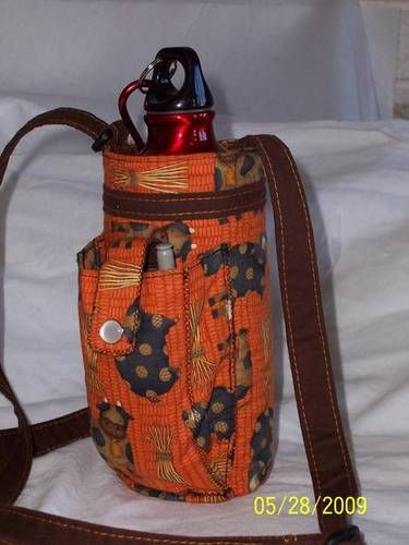 Water Bottle Holder w/a Whatever Pocket - PURSES, BAGS, WALLETS