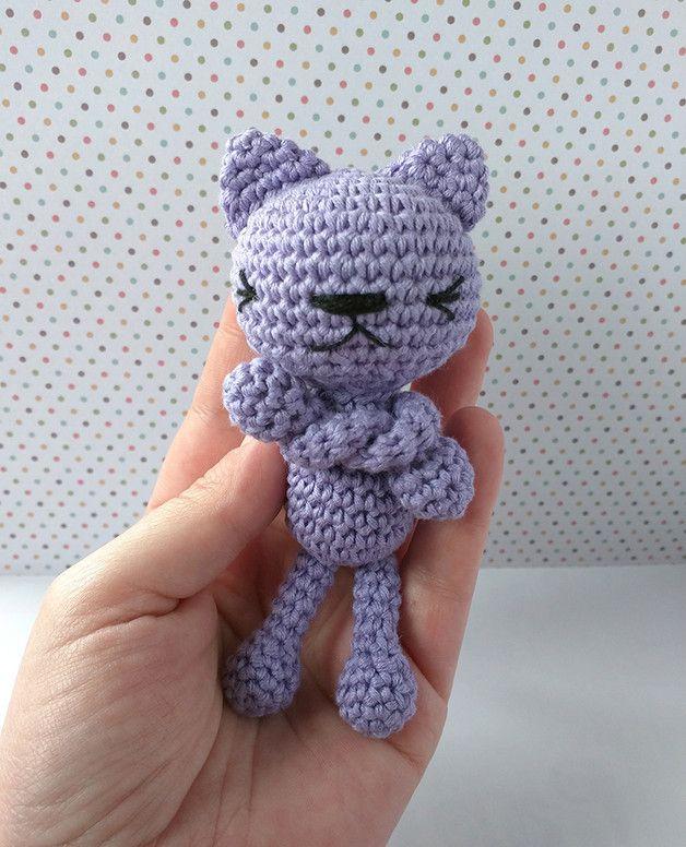 Muñecos - El gato gruñón - hecho a mano por Rosebud-tienda en DaWanda