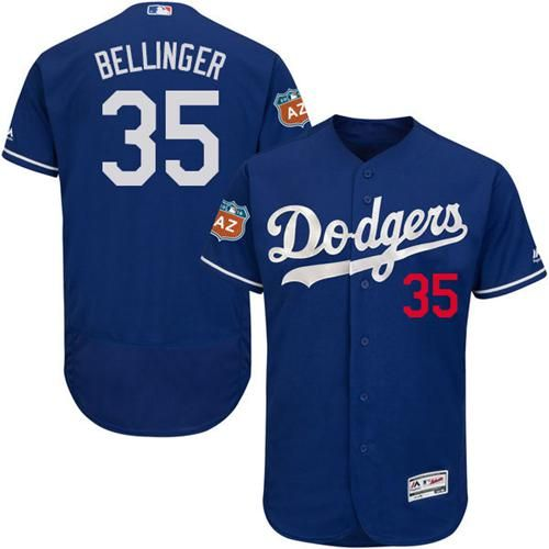 Dodgers #35 Cody Bellinger Blue Flexbase Authentic Collection Stitched MLB Jersey #LetsGoDodgers #KershGonnaKersh #BaseballSky #DodgersWin #Googlejerseys #Luckyjerseys #Loongjerseys