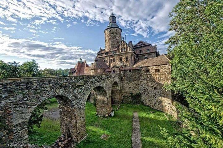 Zamek Czocha w miejscowości Sucha