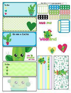 Plan.Teach.Create: Free Printable Mini Happy Planner Stickers