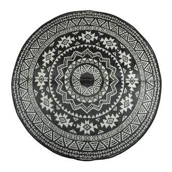 Het fijne van een vloerkleed is dat je er elke ruimte eenvoudig mee opleukt en dat geldt natuurlijk ook voor de tuin! Dit hippe vloerkleed van Esschert heeft een leuke print en kan aan beide kanten gebruikt worden. Leuk om mee af te wisselen!