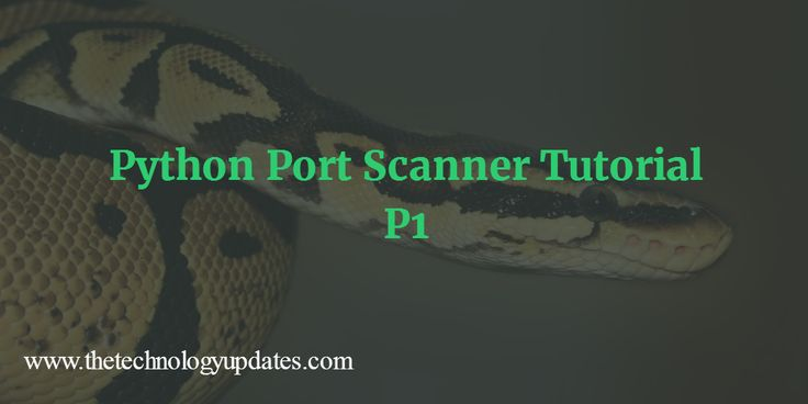 Welcome to Python Multi-Threaded Port Scanner with tkinter tutorial series part 1. This tutorial is based on the Python version 3.x.
