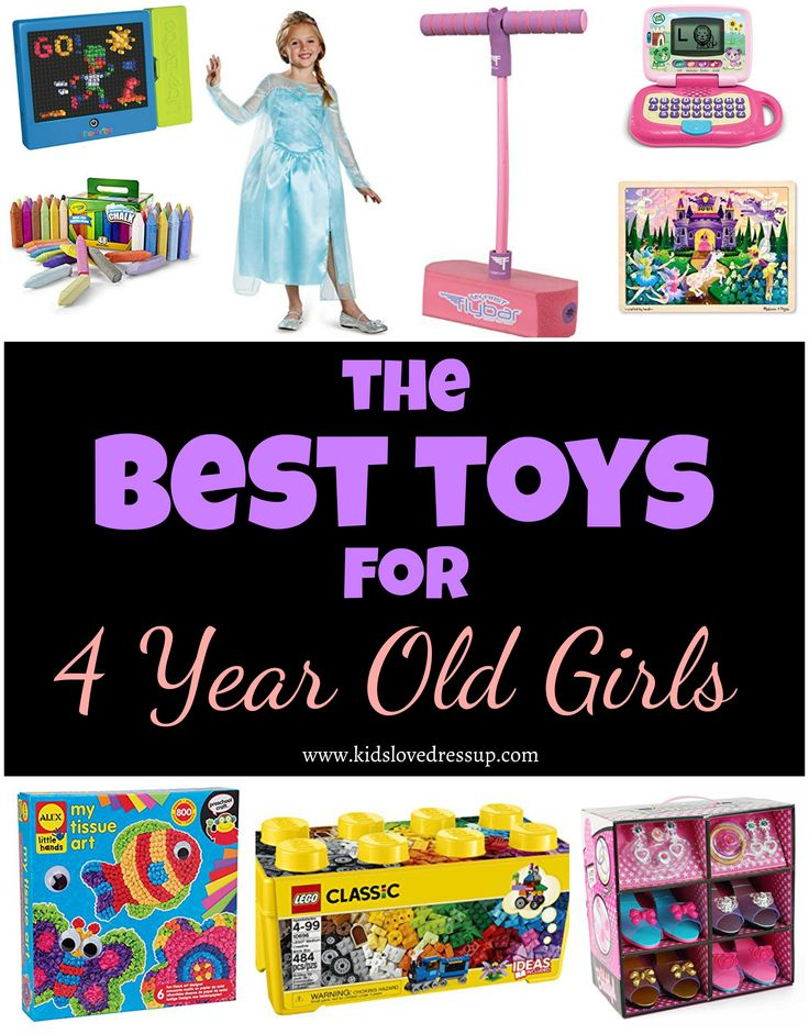 Best toys for 4 year old girls - want her to be busy and happily playing? Get her some of these toys and watch her shine!  best toys for girls, girls toys, toys 4 year old girl, gifts for girls, gifts for 4 year old girls, toys for 3 year olds, toys for 5 year olds