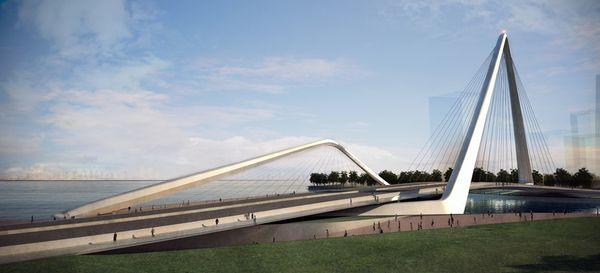 Infinity Loop Bridge by 10 DESIGN , via Behance