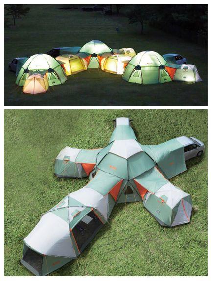 Cool Tent! camping fun!