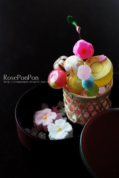 Japanese sweets, Ame 飴 (hard candies)