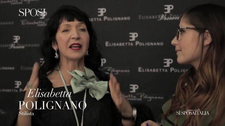 Visionaria, audace, ma sempre elegante. Questa è la donna Elisabetta Polignano.  La stilista ci racconta i tratti della sua nuova collezione che si ispira al Settecento veneziano. Ecco l'INTERVISTA, subito dopo la sfilata al SI' SPOSAITALIA COLLEZIONI  Videomaker Dario D'India  Montaggio Alessandro Sarcinelli