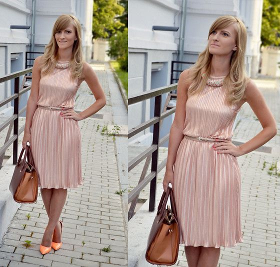 Massimo Dutti Dress, Orsay Bag, Sammy Dress Shoes