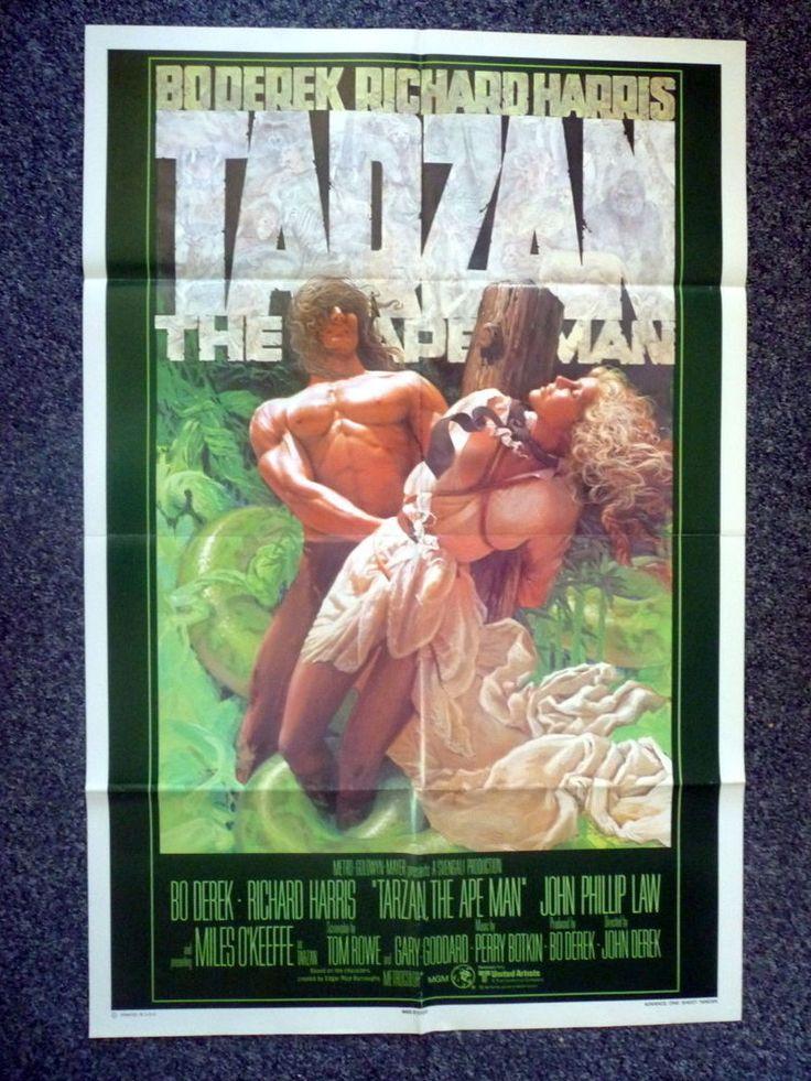 TARZAN THE APE MAN Original 1981 US Advance One Sheet Movie Poster Bo Derek