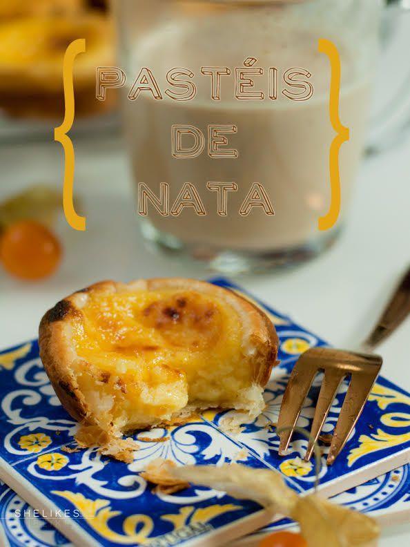 SHELIKES -   Urlaubserinnerungen – Pastéis de Nata | Portugisische Puddingtörtchen