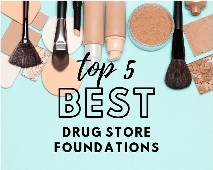 Top 5 BEST drug store foundations. If you get over…