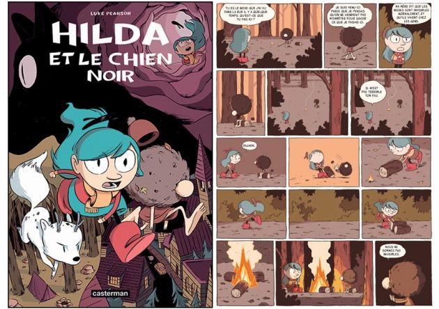 Hilda et le chien noir de Luke Pearson