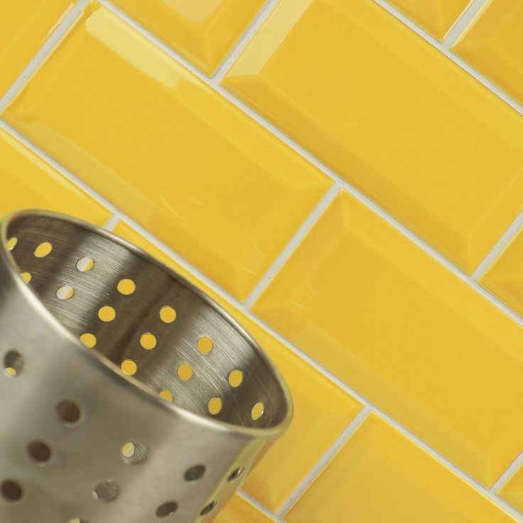 Aldgate Yellow Tiles Metro 200x100 Tiles 200x100x7mm Tiles