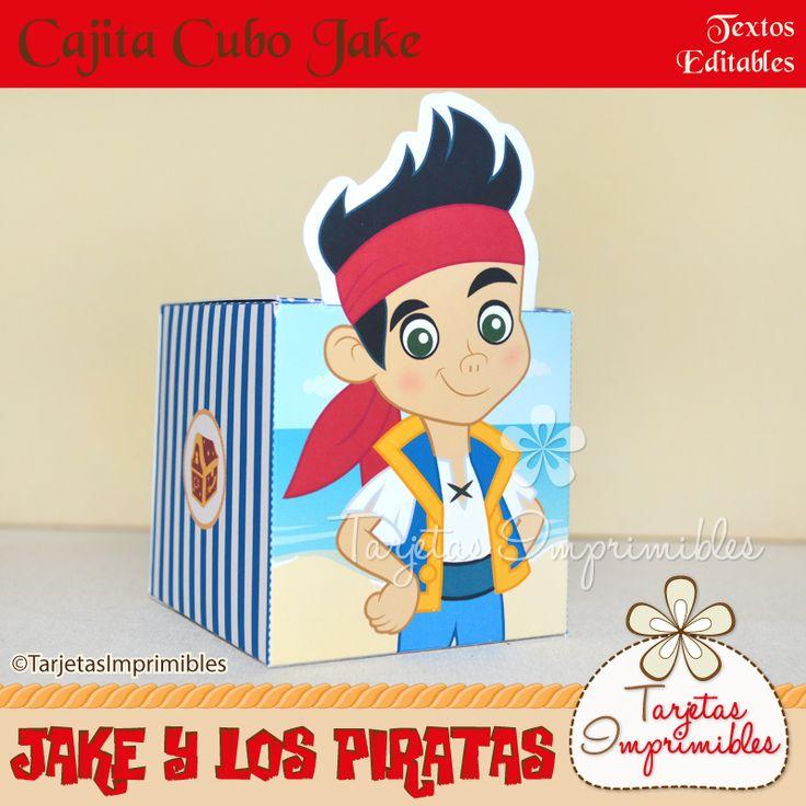 Cajita cubo Jake