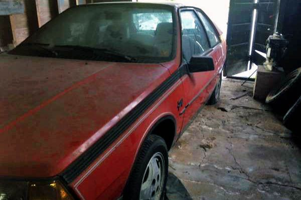 Cold As Ice: 1983 Renault Fuego Turbo - http://barnfinds.com/cold-as-ice-1983-renault-fuego-turbo/