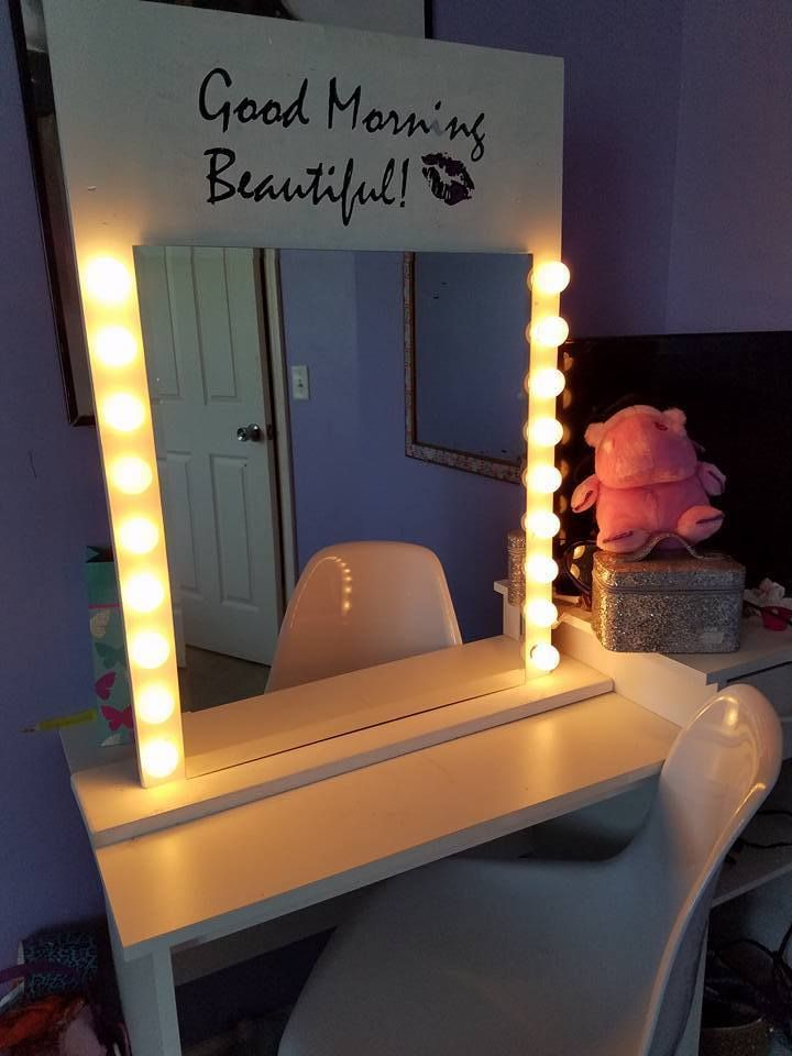 23 best General Product Ideas images on Pinterest   Pallet ... on Mirrors For Teenage Bedroom  id=82828