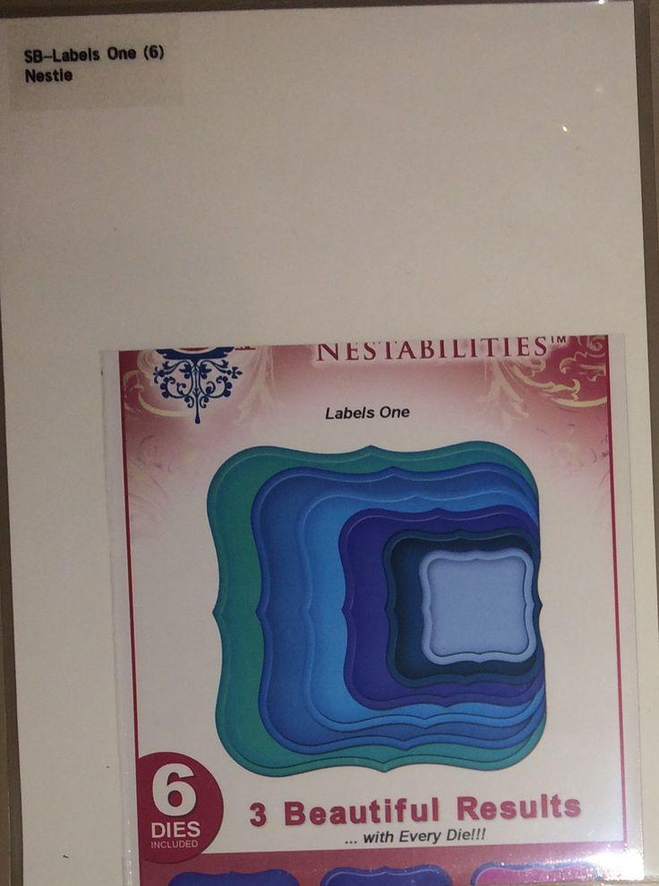 $7.50 - Spellbinders: Labels One