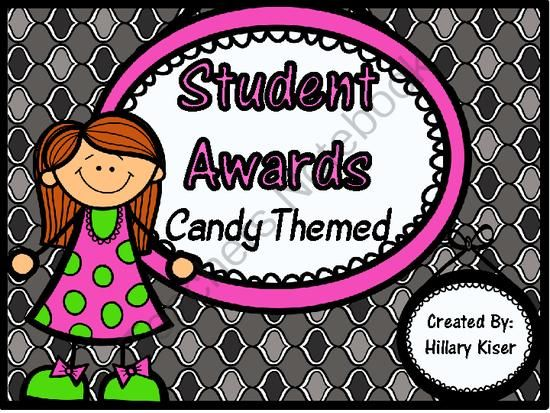 End of the Year GIVEAWAY! - I am holding an end of the year giveaway!! Win my End of the Year Student Awards! ($6.00 Value) to use with your kiddos as the year wraps up! :).  A GIVEAWAY promotion for Student Awards (Candy Themed) from Hillary3986 on TeachersNotebook.com (ends on 5-26-2014)