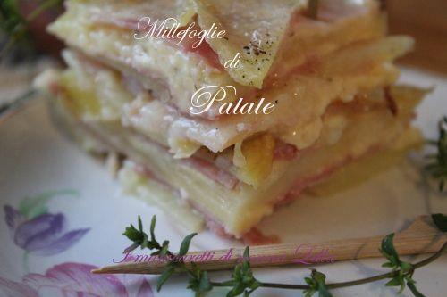 Millefoglie di patate I manicaretti di nonna Lella http://blog.giallozafferano.it/graziagiannuzzi/millefoglie-di-patate/