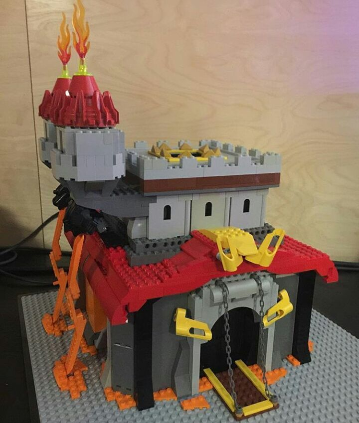 how to build lego clash of clans