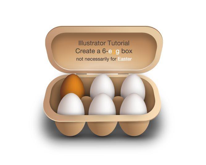 vector egg box