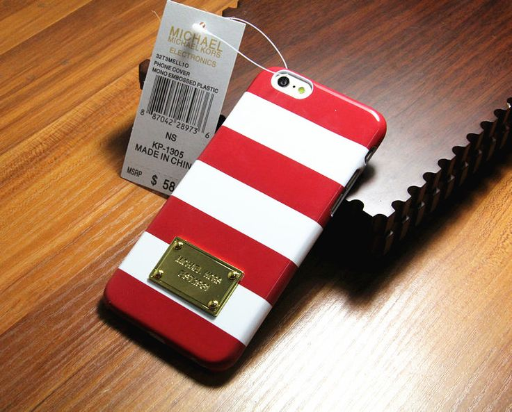 Michael Kors Logo Dotted Red iPhone 6 Cases