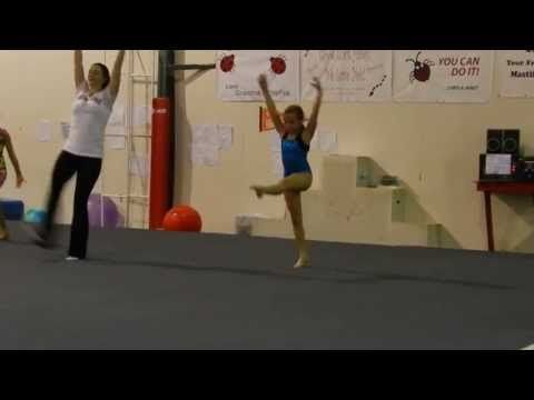 NEW USAG Level 3 floor routine - YouTube