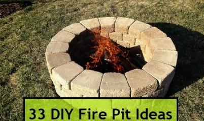 33 DIY Fire Pit Ideas