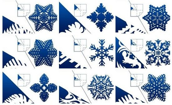 how to diy pretty kirigami snowflakes free template www fabartdiy