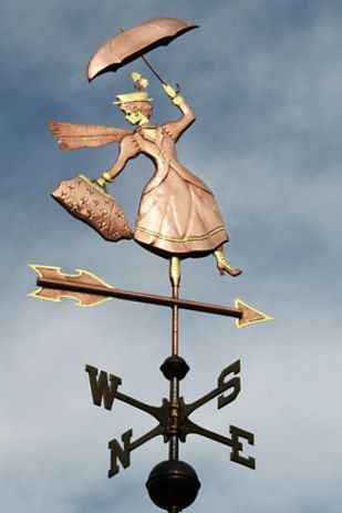 A whimsical weather vane. | 33 Magical Disney Decorations You Need In Your Life