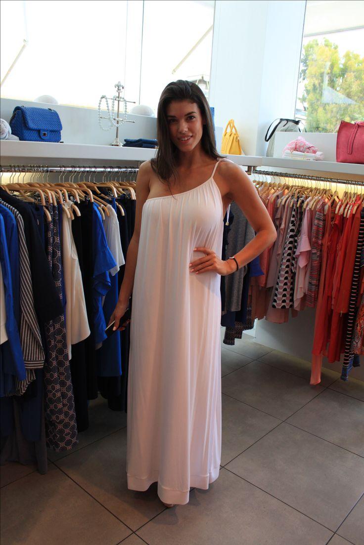 YAZZ white dress!  www.yazz.gr Shop online now!