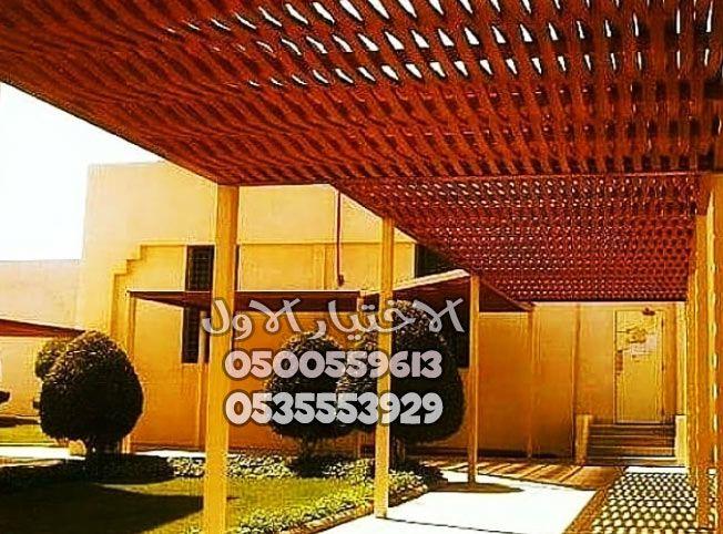 مظلات خشب بالرياض خصم30 الاختيار الاول0500559613 Outdoor Structures Outdoor Pergola