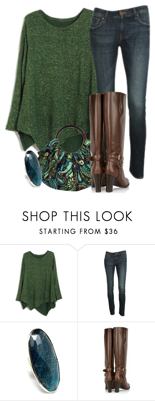 """""""Sedona Ring"""" by meltog ❤ liked on Polyvore featuring HOBO, Nolita, Style Tryst and Burberry"""