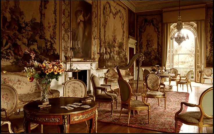 Versailles to Victoria: Chateau of the day: Dunrobin Castle- Sitting Room