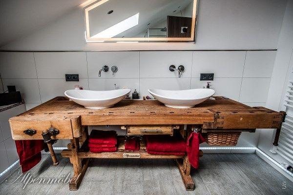 die besten 25 badezimmer regal holz ideen auf pinterest. Black Bedroom Furniture Sets. Home Design Ideas