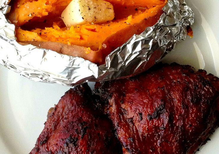 SMOKIN' JERK CHICKEN THIGHS | Jamaican me hungry (Island grub ...