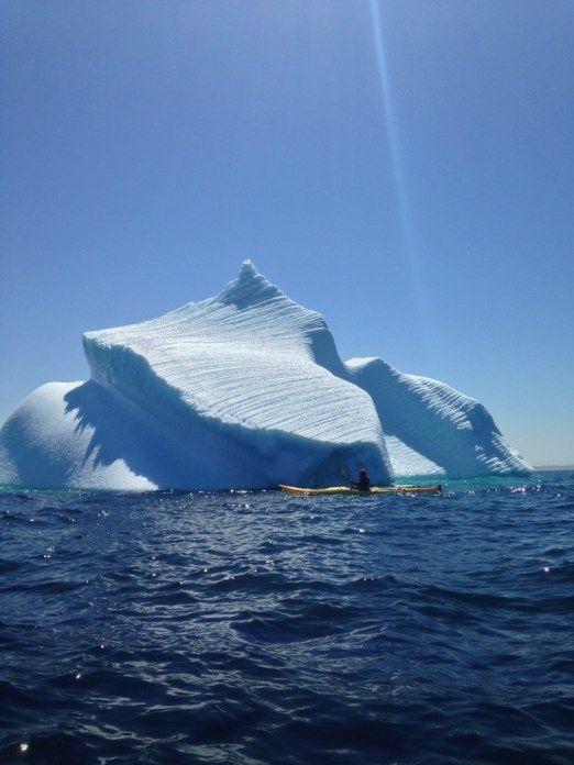 Iceberg Kayaking.