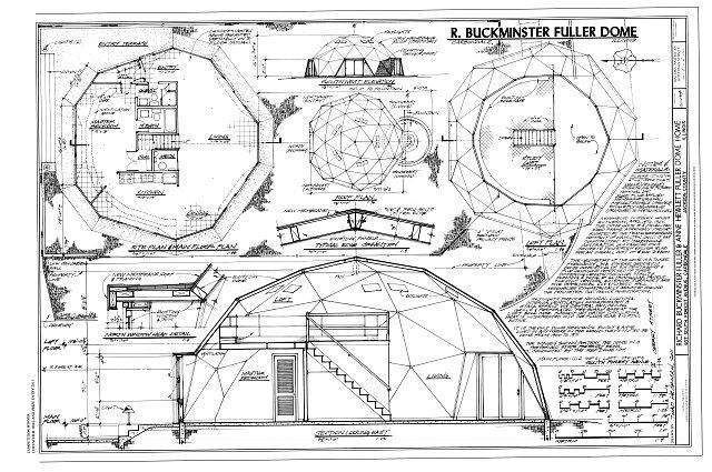 Richard Buckminster Fuller Amp Anne Hewlett Fuller Dome Home